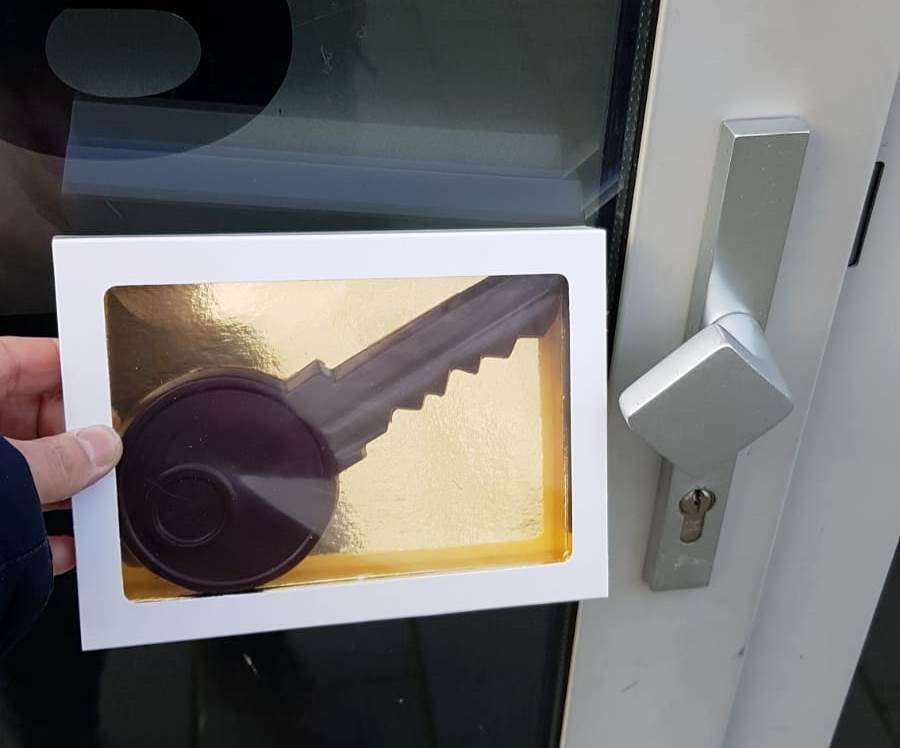 Eerste slimme deurslot thuiszorg Oud-Beijerland geplaatst
